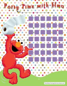 Elmo potty training chart also charts for boys and girls printable examples rh hloom
