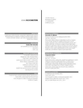 Resume For Internship 998 Samples 15 Templates How To Write