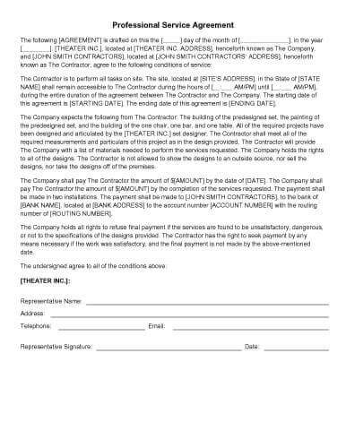 How to write an amendment to a contract. 31 Sample Agreement Templates In Microsoft Word Hloom