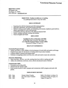 Functional Resume Definition Format Layout 60 Examples  Definition Of Functional Resume