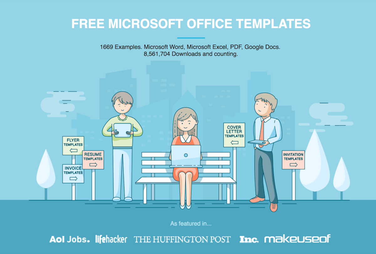 Free Microsoft Office Templates By Hloom Com