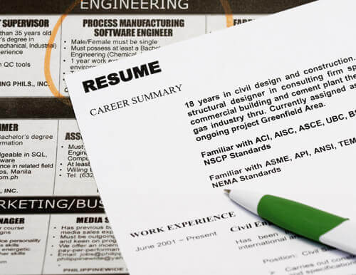 how to write a cover page for a resumes