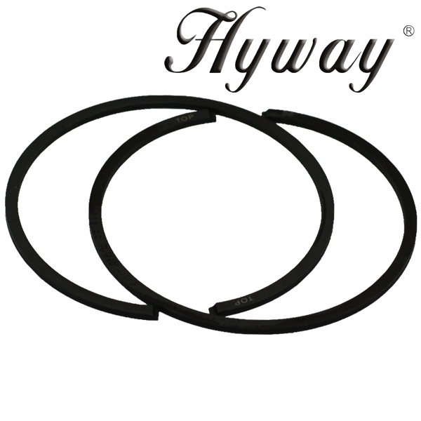 Hyway piston rings 44mm fits Stihl 026