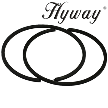 Hyway piston rings 46mm fits Stihl 028, 029, MS290, 034