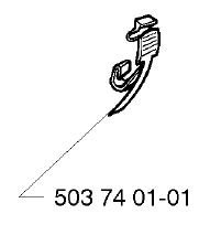 Husqvarna 362, 365, 371, 372 clamp 503 74 01-01