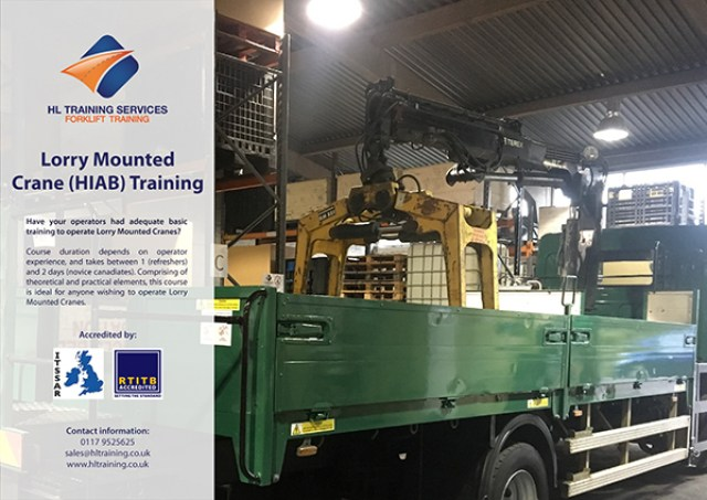 Lorry Mounted Crane - HIAB - Training