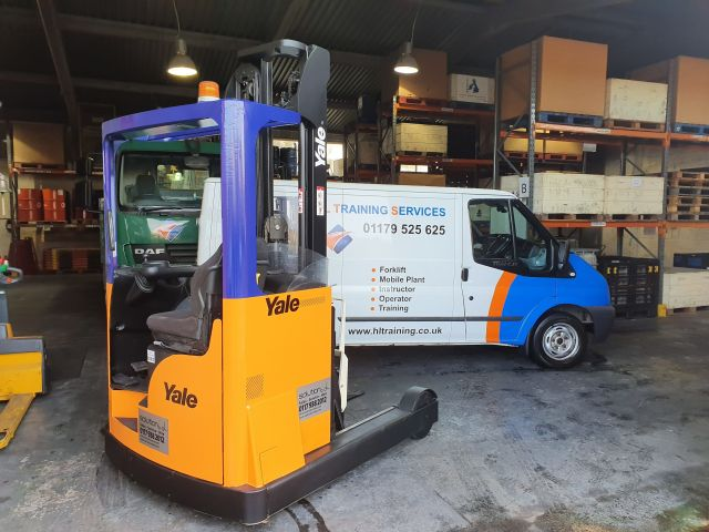 New Yale Reach Truck, in HL Colours