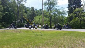 Biker Sunday at Hadley-Luzerne Wesleyan Church