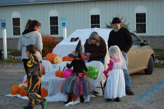 Trunk or Treat on Halloween at Hadley, Luzerne, and Lake George New York