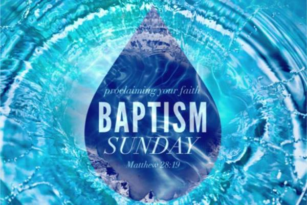 Baptism Sunday in Lake Luzerne NY - March 29