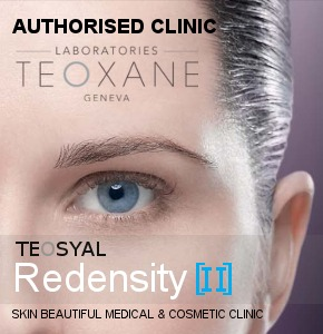 Skin Beautiful Clinic - an authorised and trained clinic for Teosyal Redensity II