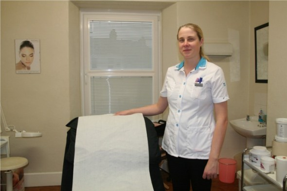 Helen Bowes at Skin Beautiful Clinic in Carmarthen