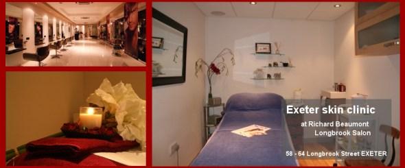 Skin Beautiful Exeter Clinic at Richard Beaumont Longbrook Salon Exeter