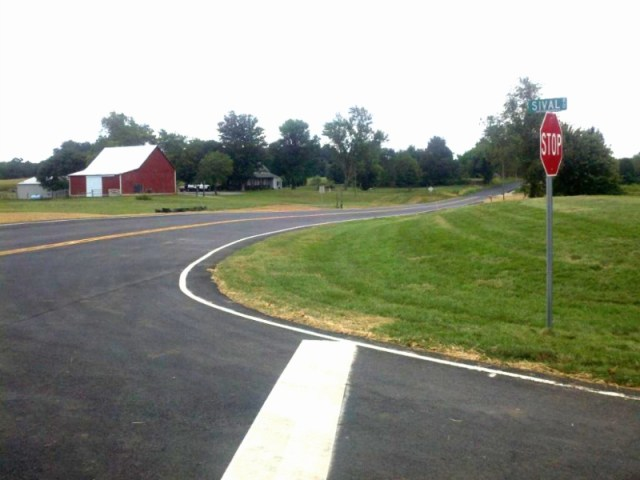 Corydon-Ramsey Road and Sival Road Intersection (Harrison County, IN)