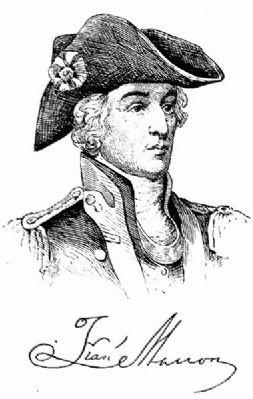 Captain William Henry Mouzon Historical Marker