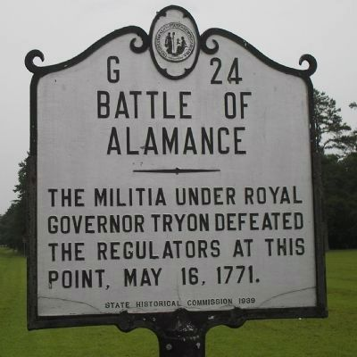 The Battle of Alamance Image Three