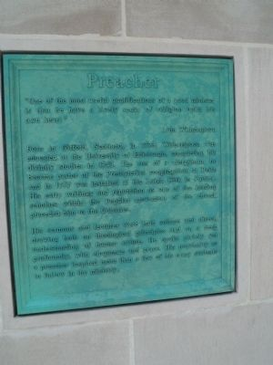 Marker on Right of Monument image. Click for full size.