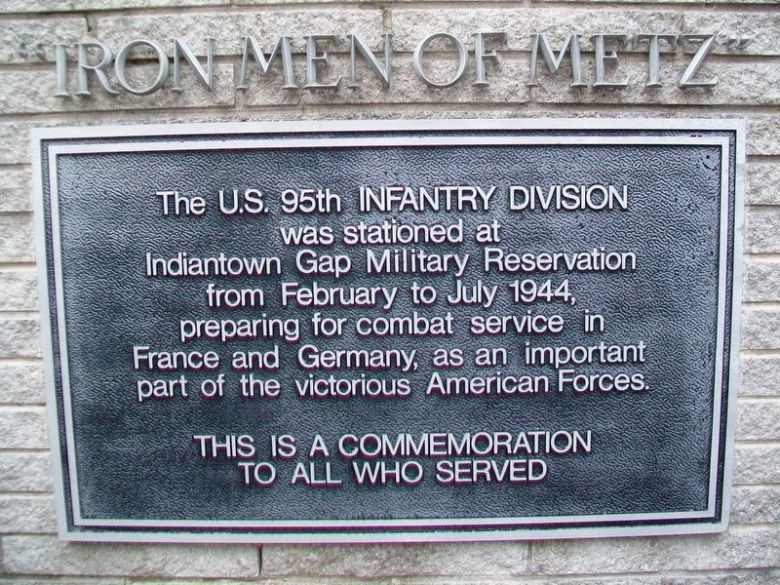 95th Infantry Division Memorial Marker image. Click for full size.
