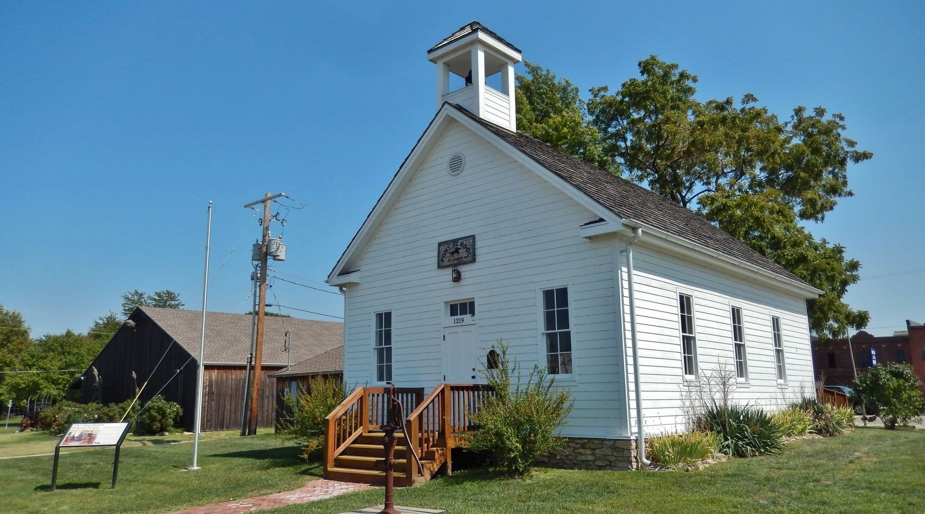 The One Room Schoolhouse Historical Marker