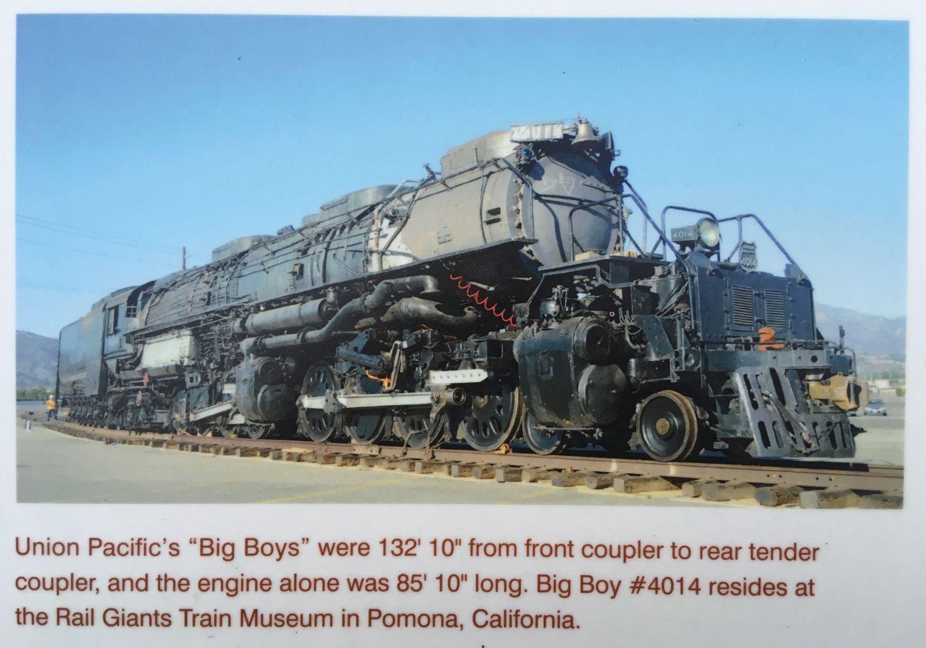 big boy historical marker