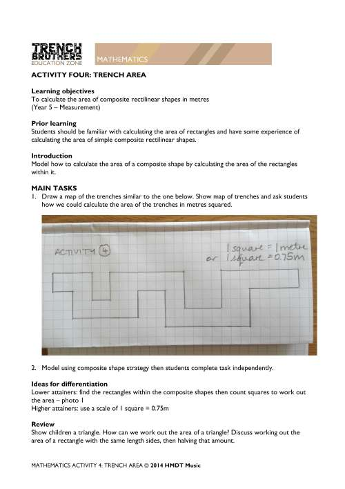 small resolution of Rectilinear Area Worksheets   Printable Worksheets and Activities for  Teachers