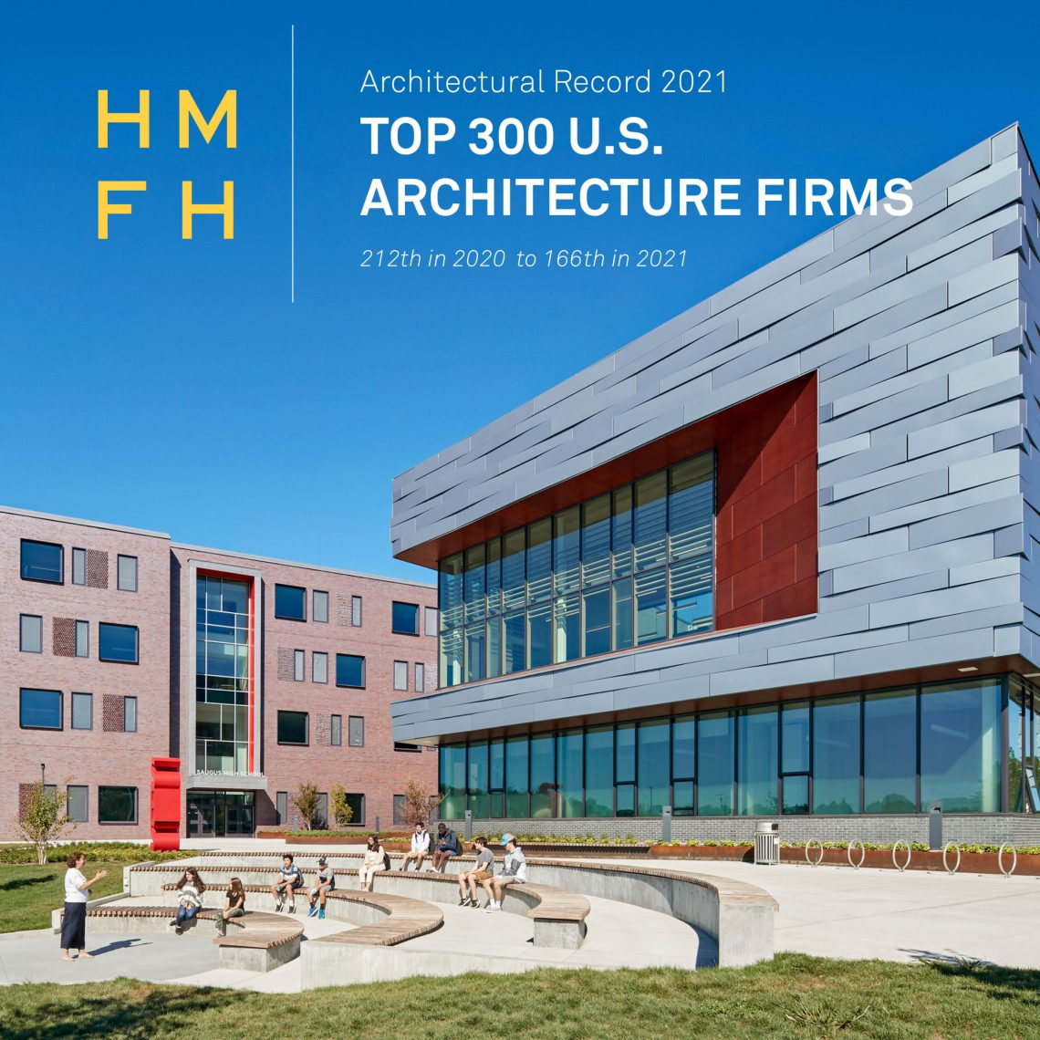 Hmfh Ranks Among Architectural Record S Top 300 Firms Of 2021 Hmfh