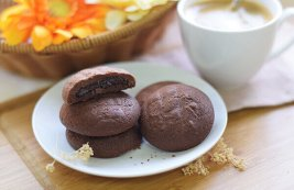 Chocolate Stuffed Biscuit