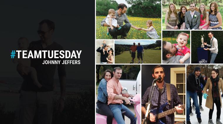 #TeamTuesday – Johnny Jeffers