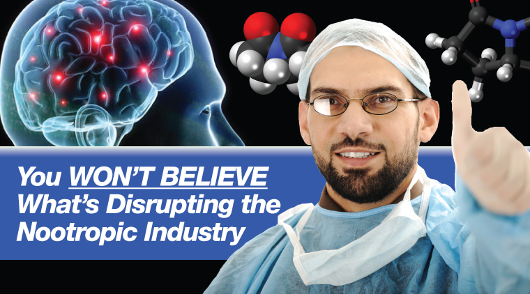You Won't Believe What's Disrupting the Nootropic Industry