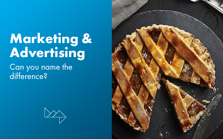 Marketing & Advertising: Can You Name the Difference?