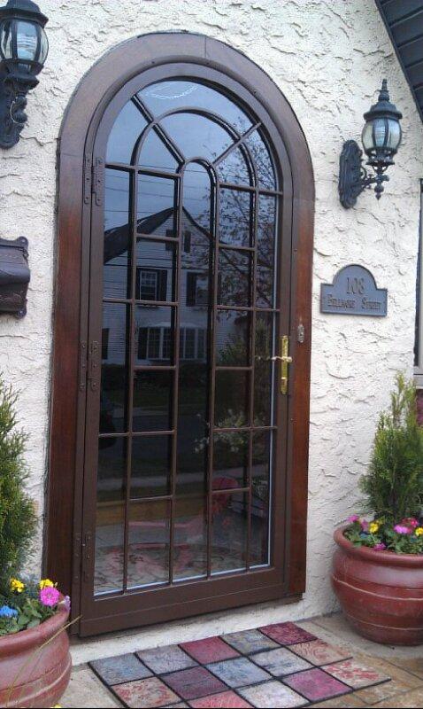 HM950 Queens Circle Arch Top  HMI Doors