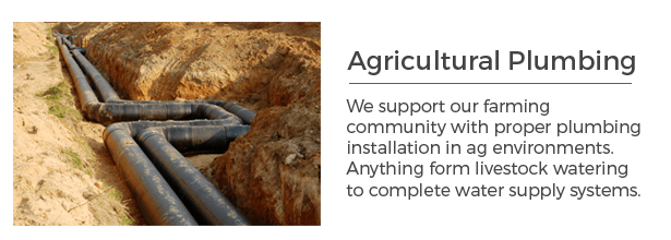 Agricultural Plumbing Services
