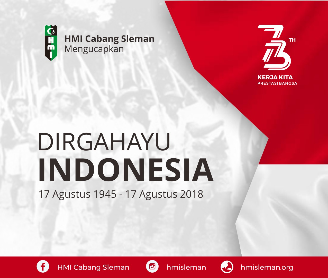 DIRGAHAYU REPUBLIK INDONESIA 73