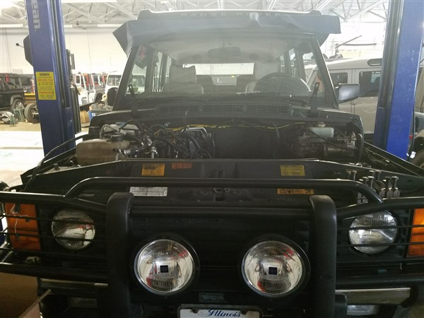 Projects In The Shop Now | HM Land Rover
