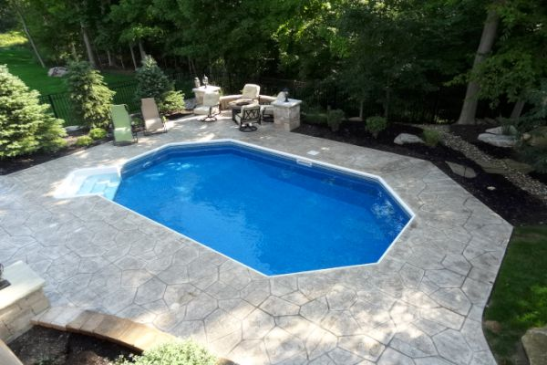 Inground Pool Patio Ideas