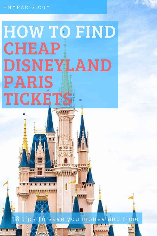 How To Buy Cheap Disneyland Paris Tickets