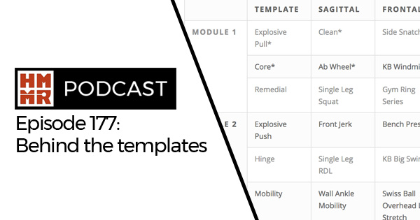 HMMR Podcast Episode 177: Behind the templates