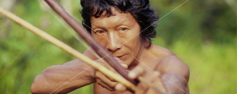 Hmong And Amazon Man: Bow and Arrow