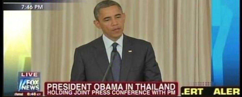 President Obama Prime Minister Yingluck Shinawatra Bangkok Thailand