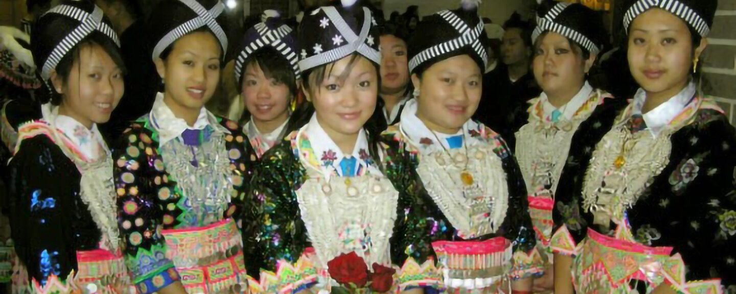 Hmong clothing: People see it on me as being Native American clothing