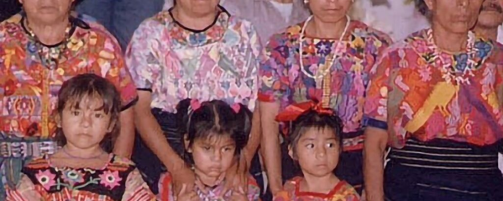 Guatemalan And Hmong: Looks Like She Is Wearing Some Type Hmong Design