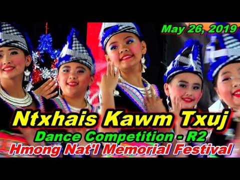 Ntxhais Kawm Txuj R2 @Hmong Nat'l Memorial Day Festival, Oshkosh, WI (5-26-19)