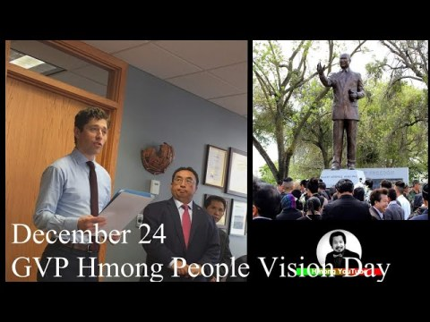 HUT: Gen. Vang Pao Hmong People Vision Day In The City Of Minneapolis 12-24