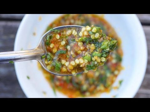 Hmong Pepper Dip: Our classic one