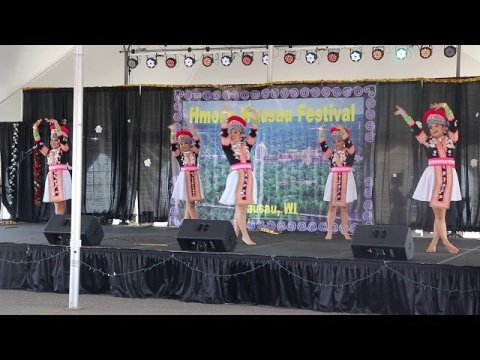 Hmong Dance competition at Wausau Festival