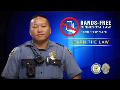DPS: Hands-Free Minnesota (St. Paul Police Officer Xue Vang - Hmong)