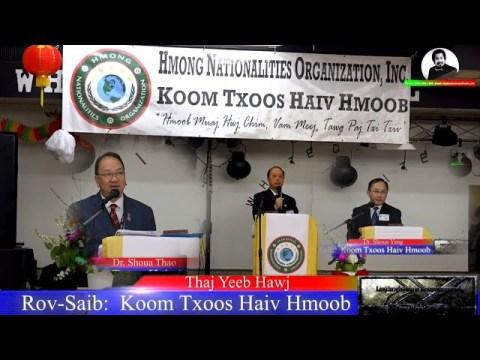 Rov-Saib: Koom Txoos Haiv Hmoob Lub Conference 2 Xyoo Dhau Los