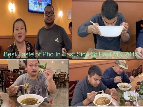 Hmong best tastes of Pho in twin cities MN..Cups and Cheers Restaurant 2019