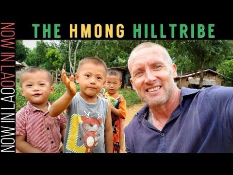 Travelling Laos | Hmong Hill Tribe Village of Long Lao Luang Prabang Laos S.E.Asia