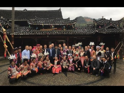 Welcoming Dance Ceremony by the Hmong in Xichang, Leishan County